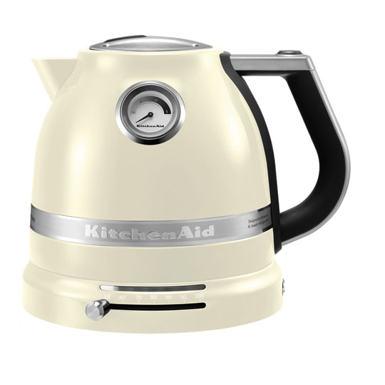 Чайник электрический, 1.5 л, кремовый, 5KEK1522, KitchenAidЧайники<br><br>