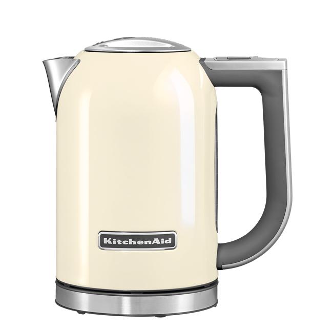 Чайник электрический, 1.7 л, кремовый, 5KEK1722, KitchenAidЭлектрочайники 1,7 л.<br><br>