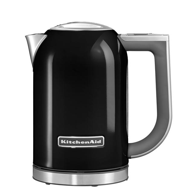 Чайник электрический, 1.7 л, черный, 5KEK1722, KitchenAidЭлектрочайники 1,7 л.<br><br>