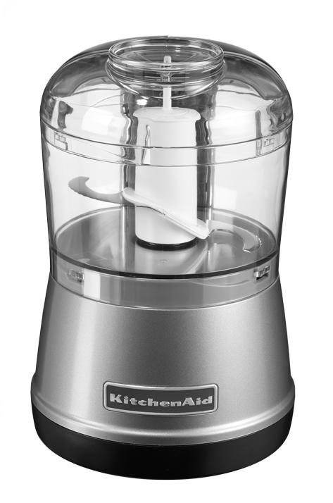 Чоппер (измельчитель продуктов), 2 скорости, серебристый, 5KFC3515ECU, KitchenAidЧопперы (измельчители)<br><br>
