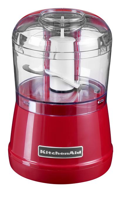Чоппер (измельчитель продуктов), 2 скорости, красный, 5KFC3515EER, KitchenAidЧопперы (измельчители)<br><br>