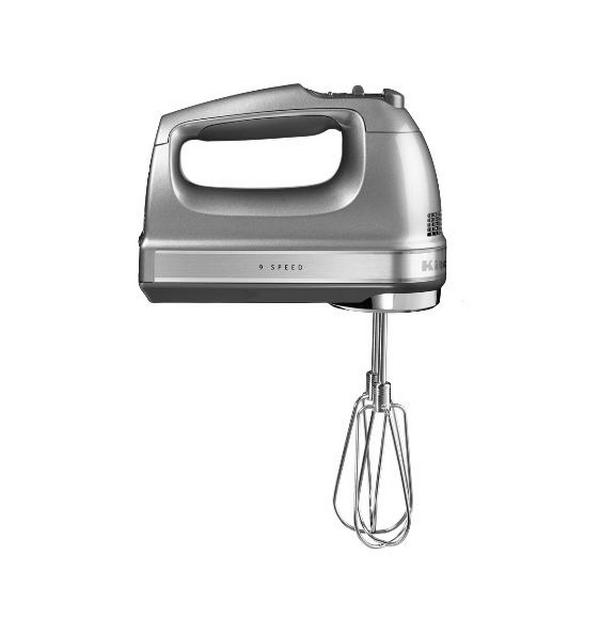 Ручной миксер KitchenAid, серебристый, 5KHM9212ECU, KitchenAidМиксеры ручные<br><br>