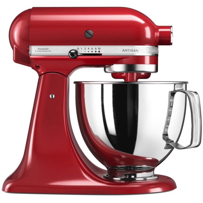 Миксер Artisan, 4,8 л., красный, 5KSM125EER, KitchenAid<br>