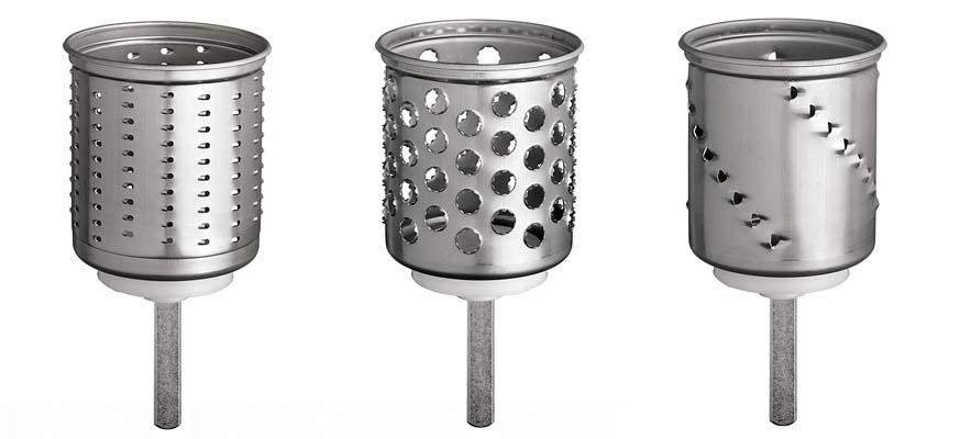 Ножи-барабаны дополнительные для овощерезки, 3шт., KitchenAid