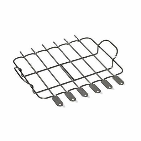 Решетка для барбекю и 6 шампуров, с антипригарным покрытием для KSOX 9020/9010, KitchenAidРешетка для барбекю &amp;ndash; это великолепный и простой способ расширить гамму блюд, традиционно приготовляемых на приусадебных гриль-кухнях KitchenAid. Прочная приподнятая решетка не позволяет продуктам пригорать к грилирующей поверхности, к тому же ее достаточно высокие ручки добавляют удобства в процесс работы с данным приспособлением.&#13;<br>&#13;<br>В комплект решетки входят 6 шампуров &amp;ndash; с их помощью вы сможете поджарить шашлык или запечь ароматные овощи.&#13;<br>Антипригарное покрытие решетки поможет без проблем очистить ее и шампура для подготовки к загрузке новой порции шашлыка.&#13;<br>&#13;<br>Разрешается мыть решетку в посудомоечной машине.&#13;<br>&amp;nbsp;<br>