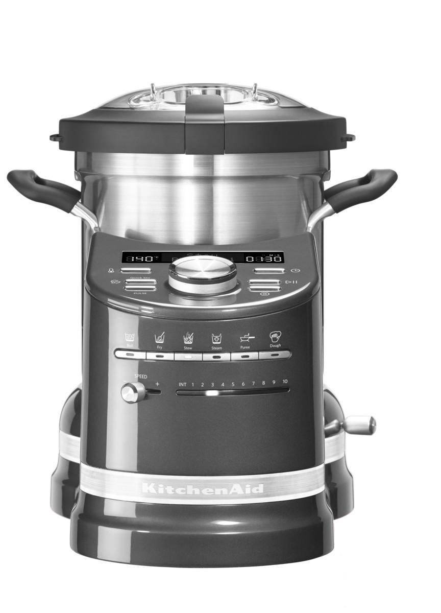 Процессор кулинарный Artisan, объем 4.5л, серебряный медальон, 5KCF0103EMS, KitchenAid