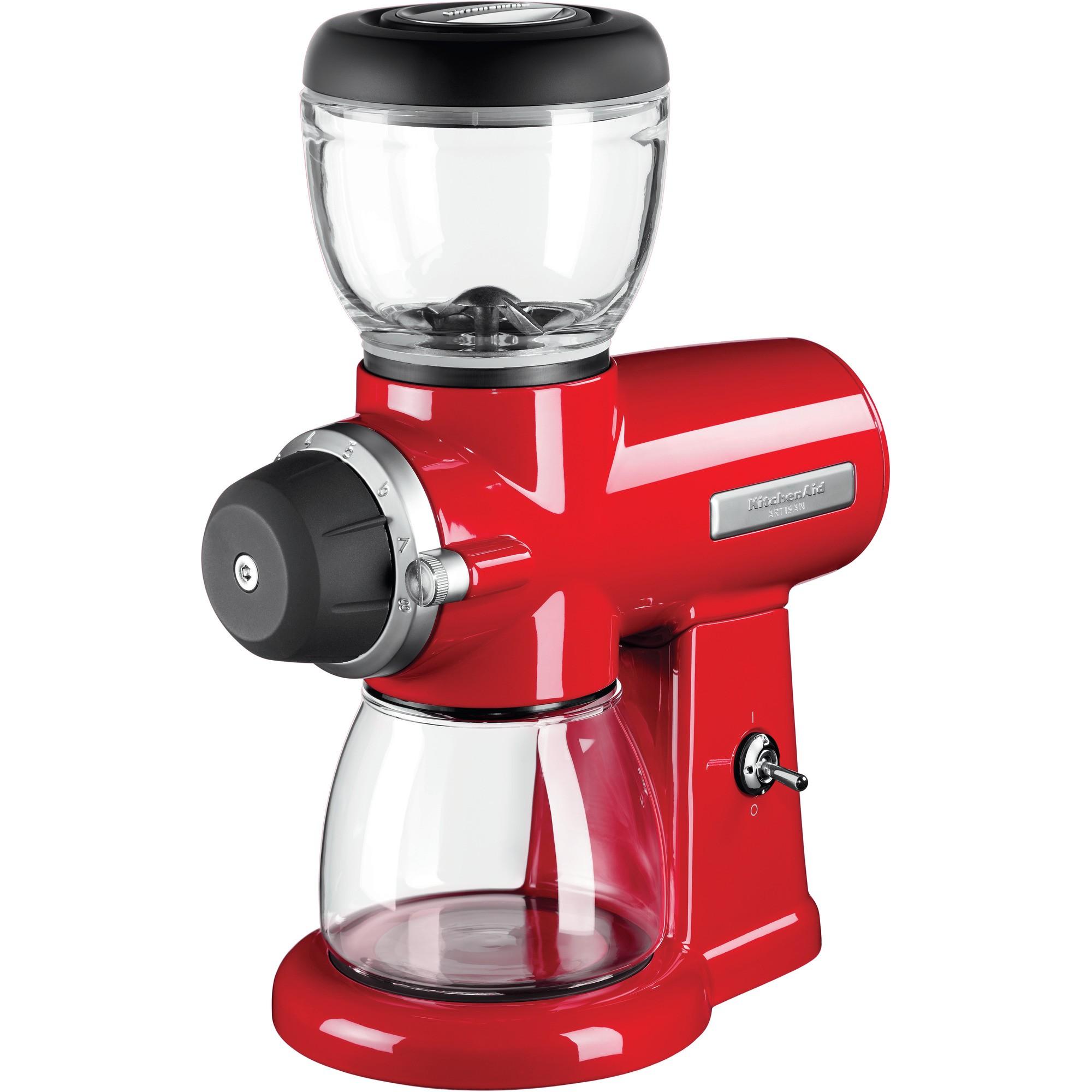 Кофемолка Artisan, красная, 5KCG0702EER, KitchenAidКофемолки<br><br>