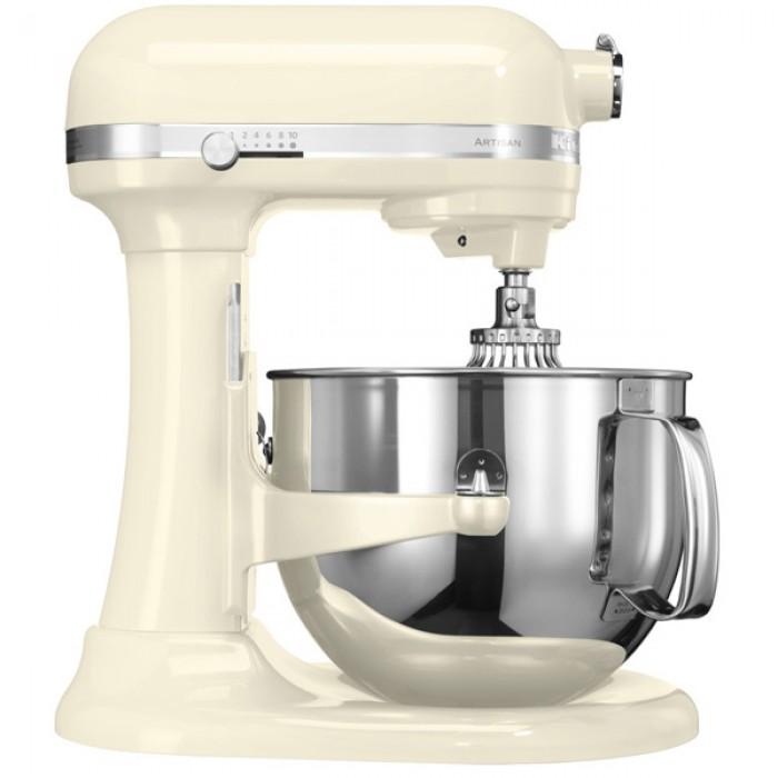 Миксер Artisan, чаша 6.9 л, кремовый, 5KSM7580, KitchenAidМиксеры планетарные кухонные 6.9 л<br><br>