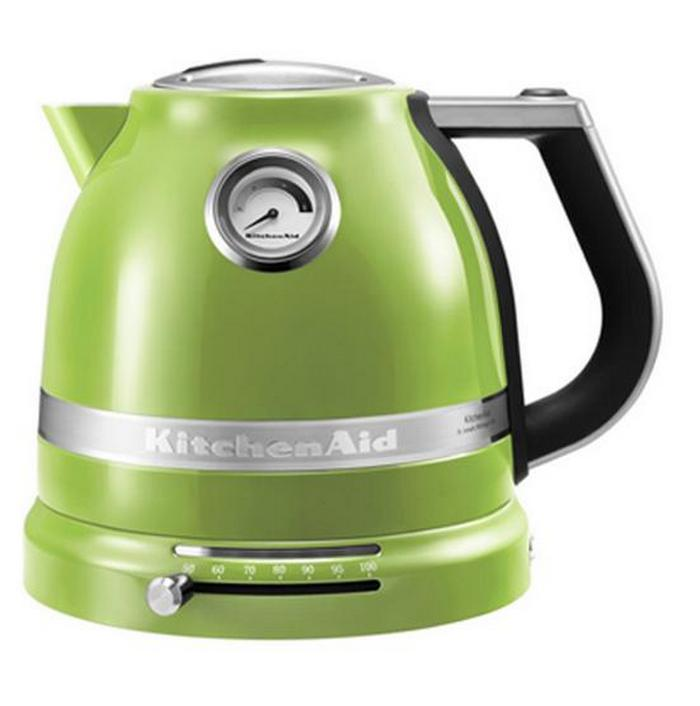 Чайник электрический ARTISAN, 1.5 л, зеленое яблоко, 5KEK1522EGA, KitchenAidЭлектрочайники Artisan 1,5 л.<br><br>