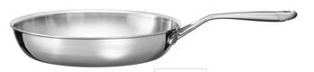 Сковорода 30.5 см, KC2T12SKST, KitchenAid3-слойная посуда из нержавеющей стали<br>Сковорода KitchenAidиз нержавеющей стали - универсальная посуда для ежедневного использования. Подходит для приготовления омлетов, блинов, оладий, обжаривания, тушения овощей или мяса, приготовления соусов. С её помощью вы также можете приготовить запеканку или шарлотку, ведь её можно использовать и в духовке.&#13;<br>Современная технология 3-Ply обеспечивает высокую теплопроводность, равномерный нагрев, позволяет избежать пригорания пищи.&#13;<br>&#13;<br>Для всех видов плит&#13;<br>Для использования в духовом шкафу&#13;<br>Сварнаярукоятка&#13;<br>Разрешается мытье в посудомоечной машине&#13;<br>&#13;<br><br>