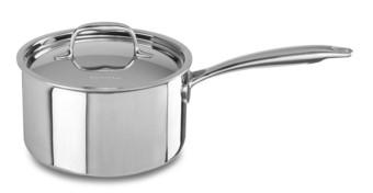 Сотейник с крышкой, 2.84 л, KC2T30EHST, KitchenAid3-х слойная посуда из нержавеющей стали<br>Универсальный сотейник KitchenAid с крышкой объёмом 2,8 л подходит для обжаривания или тушения мяса и овощей, приготовления домашних супов, каш и т.д.&#13;<br>Сотейник изготовлен с использованием технологии Tri-Ply и состоит из 3-х слоев металла &amp;ndash; нержавеющей стали с внешней и внутренней стороны и сердцевины из алюминия. Жар равномерно прогревает не только дно сотейника, но и его стенки, позволяя получить оптимальные результаты готовки.&#13;<br>&#13;<br>Для всех видов плит&#13;<br>Для использования в духовом шкафу&#13;<br>Сварные рукоятки&#13;<br>&#13;<br>&amp;nbsp;<br>