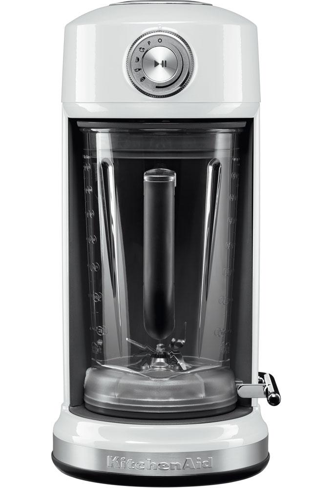 Блендер с электромагнитным приводом Artisan, 1.8 л, 5KSB5075EWH, белый, KitchenAidБлендеры с магнитным приводом<br><br>