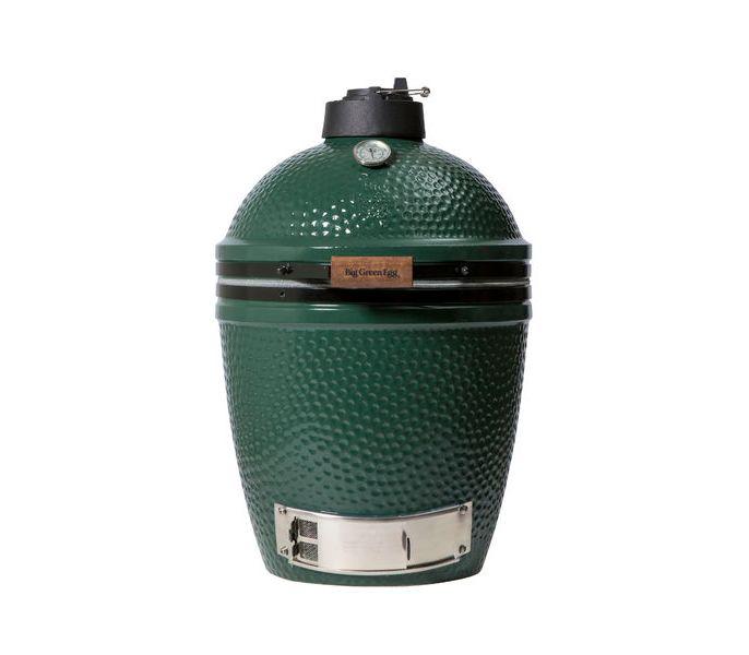 Гриль угольный MEDIUM EGG, средний, 38см, керамические стенки, Big Green EggКерамические грили<br>Компактный, но с большим потенциалом – так характеризуют гриль Medium EGGв компании Big Green Egg. Размера его решётки достаточно, чтобы досыта накормить небольшую семью или компанию из 2-3 пар.&#13;<br>Объем гриля достаточно велик, чтобы его можно было использовать для горячего копчения, готовки в чугунной кастрюледля тушения или выпечки на керамическом камне для пиццы.&#13;<br>Оснастите свой гриль дополнительными аксессуарами и наслаждайтесь всеми кулинарными возможностями этого замечательного устройства!&#13;<br>Medium EGGможет приготовить за один раз:&#13;<br>&#13;<br>индейку весом до 8 кг,&#13;<br>6 бургеров,&#13;<br>3 цыпленка вертикально,&#13;<br>4 стейка или 4 полоски свиных ребрышек.&#13;<br>&#13;<br>Технические характеристики:&#13;<br>&#13;<br>Диаметр решётки: 38 см&#13;<br>Рабочая поверхность: 1140 см2&#13;<br>Вес: 51 кг&#13;<br>Высота: 72 см&#13;<br>&#13;<br>В комплекте:&#13;<br>&#13;<br>Керамическая основа печи&#13;<br>Керамическая верхняя половина&#13;<br>Кольцо керамическое&#13;<br>Кольца с пружинным механизмом&#13;<br>Многофункциональная чугунная крышка&#13;<br>Термометр&#13;<br>Решетка под уголь&#13;<br>Поддон под уголь&#13;<br>Решетка с фарфоровым покрытием&#13;<br>Инструкция по применению&#13;<br>Диаметр: 38см&#13;<br><br>