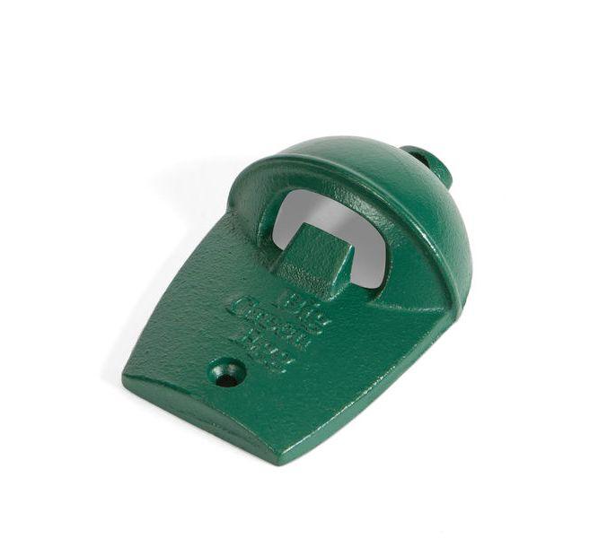 Открывалка для бутылок в виде гриля, настенная, зелёная, чугун, Big Green EggАксессуары<br>Практичная отрывалка из чугуна крепится к стене или к боковой части стола. Вам больше не придется искать открывалку, она всегда будет под рукой!&#13;<br><br>