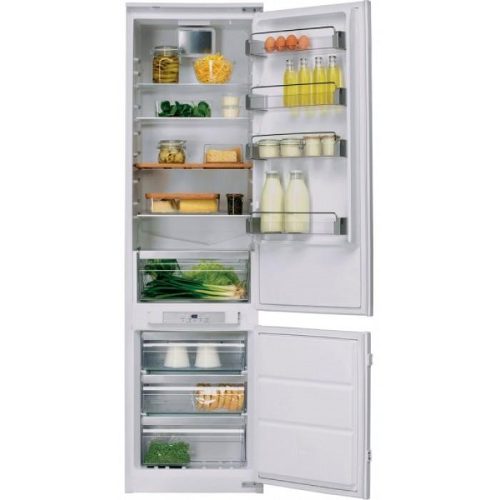 Холодильник KCBCR 20600, KitchenAidХолодильники<br>&#13;<br>Вид: холодильникс морозильником&#13;<br>Тип: встраиваемый&#13;<br>2-камерный&#13;<br>Класс энергоэффективности: А+&#13;<br>Уровень шума:38&#13;<br>Антибактериальный фильтр Hygiene&#13;<br>Дверной упор: справа&#13;<br>Хладагент: R600a&#13;<br>Система Total No-Frost&#13;<br>Тип подсветки: светодиоды&#13;<br>Тип дисплея:сенсорный&#13;<br>Индикация открытой двери&#13;<br>Система Pro Fresh&#13;<br>Количество температурных звезд в маркировке: 4&#13;<br>Полезный объем холодильного отделения, л:237&#13;<br>Общий объем холодильного отделения, л:238&#13;<br>Полезный объем морозильного отделения, л: 63&#13;<br>Общий объем морозильного отделения, л: 78&#13;<br>Система навешивания дверей: скользящая&#13;<br>Материал полок: стекло&#13;<br>Регулируемые полки на двери: 4&#13;<br>Регулируемые полки в холодильном отделении: 4&#13;<br>Полки в холодильном отделении: 5&#13;<br>Полка для бутылок&#13;<br>Разделитель бутылок&#13;<br>Лоток для яиц&#13;<br>Лоток для кубиков льда&#13;<br>Контроль уровня влажности&#13;<br>Выдвижные ящики для овощей: 1&#13;<br>Выдвижные ящики в морозильном отделении: 3&#13;<br>Короб для сыра&#13;<br><br>