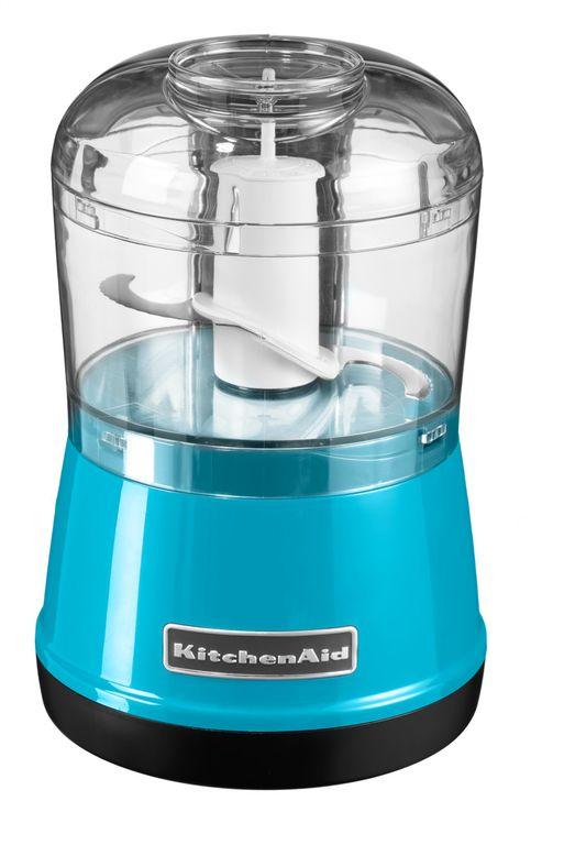 Чоппер (измельчитель продуктов), 2 скорости, голубой кристалл, 5KFC3515ECL, KitchenAidЧопперы (измельчители)<br><br>