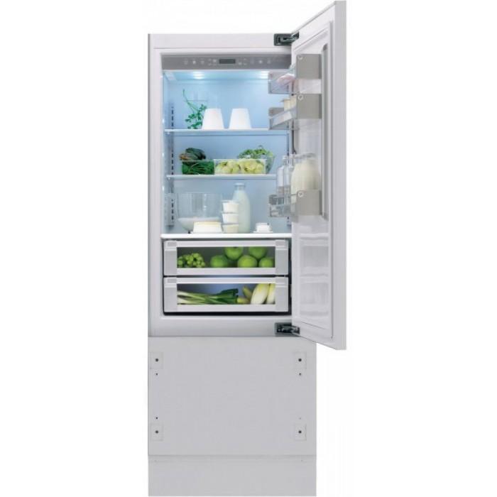 Холодильник KCVCX 20750L, KitchenAidХолодильники<br>&#13;<br>Вид:холодильник с морозильником&#13;<br>Тип:встраиваемый&#13;<br>2-камерный&#13;<br>Класс энергоэффективности: А+&#13;<br>Уровень шума: 44&#13;<br>Производительность замораживания (кг/сутки): 12&#13;<br>Дверной упор: слева&#13;<br>Хладагент: R600a&#13;<br>СистемаTotal No-Frost&#13;<br>Тип подсветки: светодиоды&#13;<br>Тип дисплея:сенсорный&#13;<br>Индикация открытой двери&#13;<br>Динамический сенсор&#13;<br>Время поддержания температуры при отключении электроэнергии, ч: 18&#13;<br>Количество температурных зон: 2&#13;<br>Количество независимых систем охлаждения: 2&#13;<br>Количествотемпературных звезд в маркировке: 4&#13;<br>Общий объем морозильного отделения, л:85&#13;<br>Общий объем холодильного отделения, л: 280&#13;<br>Отсеки холодильного отделения/ Полки: 5/3&#13;<br>Полезный объем холодильного отделения, л: 275&#13;<br>Система навешивания дверей: скользящая&#13;<br>Регулируемая температура в холодильном и морозильном отделении&#13;<br>Режим Отпуск&#13;<br>Материал полок: стекло и нержавеющая сталь&#13;<br>Полка для бутылок&#13;<br>Полка Высокая кухня (дуб)&#13;<br>Разделитель бутылок&#13;<br>Лоток для яиц&#13;<br>Лоток для кубиков льда&#13;<br>Трансформируемый выдвижной ящик&#13;<br>Выдвижные ящики для овощей: 2&#13;<br>Выдвижные ящики в морозильном отделении: 2&#13;<br>Короб для сыра&#13;<br><br>