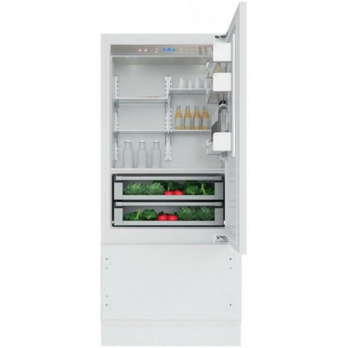 Холодильник KCVCX 20900R, KitchenAidХолодильники<br>&#13;<br>Вид:холодильник с морозильником&#13;<br>Тип:встраиваемый&#13;<br>2-камерный&#13;<br>Тип управления: сенсорный&#13;<br>Класс энергоэффективности: А+&#13;<br>Уровень шума: 44&#13;<br>Хладагент: R600a&#13;<br>СистемаTotal No-Frost&#13;<br>Типподсветки: светодиоды&#13;<br>Блокировка от детей&#13;<br>Дверной упор:справа&#13;<br>Индикация открытой двери&#13;<br>Динамический сенсор&#13;<br>Время поддержания температуры при отключении электроэнергии, ч: 18&#13;<br>Количество температурных зон: 3&#13;<br>Количество независимых систем охлаждения: 2&#13;<br>Количествотемпературных звезд в маркировке: 4&#13;<br>Общий объем морозильного отделения, л: 96&#13;<br>Общий объем холодильного отделения, л: 376&#13;<br>Отсеки холодильного отделения/ Полки: 5/2&#13;<br>Полезный объем холодильного отделения, л: 360&#13;<br>Система навешивания дверей: фиксированная&#13;<br>Регулируемая температура в холодильном и морозильном отделении&#13;<br>Режим Отпуск&#13;<br>Термостат&#13;<br>Функции быстрого охлаждения/ быстрого замораживания&#13;<br>Полка для бутылок&#13;<br>Трансформируемый выдвижной ящик&#13;<br>Выдвижные ящики для овощей: 2&#13;<br>Выдвижные ящики в морозильном отделении: 2&#13;<br><br>