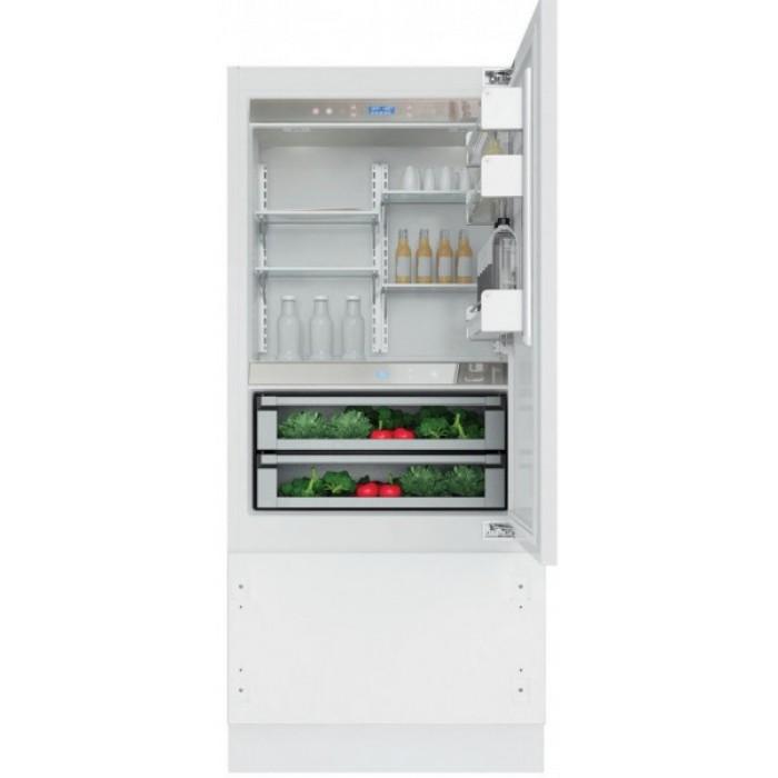 Холодильник KCVCX 20901R, KitchenAidХолодильники<br>&#13;<br>Вид:холодильник с морозильником&#13;<br>Тип:встраиваемый&#13;<br>2-камерный&#13;<br>Тип управления: сенсорный&#13;<br>Класс энергоэффективности: А+&#13;<br>Уровень шума: 44&#13;<br>Хладагент: R600a&#13;<br>СистемаTotal No-Frost&#13;<br>Антибактериальный фильтр Hygiene&#13;<br>Дверной упор: справа&#13;<br>Индикация открытой двери&#13;<br>Динамический сенсор&#13;<br>Время поддержания температуры при отключении электроэнергии, ч: 18&#13;<br>Количество температурных зон: 3&#13;<br>Количествотемпературных звезд в маркировке: 4&#13;<br>Общий объем морозильного отделения, л: 96&#13;<br>Общий объем холодильного отделения, л: 230&#13;<br>Отсеки холодильного отделения/ Полки: 5/3&#13;<br>Полезный объем морозильного отделения, л: 63&#13;<br>Полезный объем холодильного отделения, л: 220&#13;<br>Система навешивания дверей:скользящая&#13;<br>Регулируемая температура в холодильном и морозильном отделении&#13;<br>Режим Отпуск&#13;<br>Термостат&#13;<br>Функции быстрого охлаждения/ быстрого замораживания&#13;<br>Полка для бутылок&#13;<br>Полка Высокая кухня (дуб)&#13;<br>Разделительбутылок&#13;<br>Материал полок: стекло инержавеющая сталь&#13;<br>Трансформируемый выдвижной ящик&#13;<br>Выдвижные ящики для овощей: 2&#13;<br>Выдвижные ящики в морозильном отделении: 2&#13;<br>Короб для сыра&#13;<br>Лоток для кубиков льда&#13;<br>Лоток для яиц&#13;<br><br>