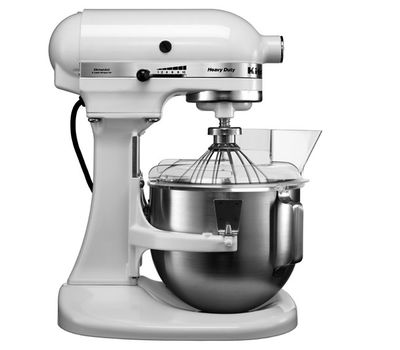 Миксер профессиональный, Heavy Duty, чаша 4.8 л, белый, 5KPM5E, KitchenAid, фото 1