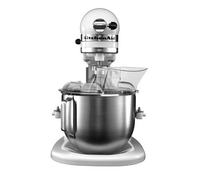 Миксер профессиональный, Heavy Duty, чаша 4.8 л, белый, 5KPM5E, KitchenAid, фото 2