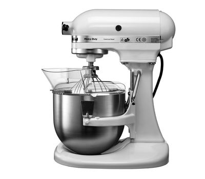 Миксер профессиональный, Heavy Duty, чаша 4.8 л, белый, 5KPM5E, KitchenAid, фото 3
