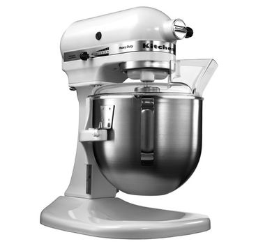 Миксер профессиональный, Heavy Duty, чаша 4.8 л, белый, 5KPM5E, KitchenAid, фото 4