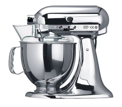 Миксер Artisan, 4,8 л., хром, 5KSM150PSECR, KitchenAid, фото 3
