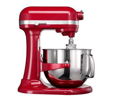 Миксер Artisan, чаша 6.9 л, красный, 5KSM7580, KitchenAid, фото 1