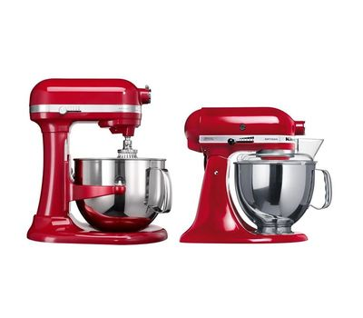 Миксер Artisan, чаша 6.9 л, красный, 5KSM7580, KitchenAid, фото 3