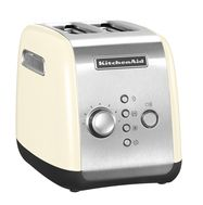 Тостер на 2 хлебца, кремовый, 5KMT221, KitchenAid, фото 1