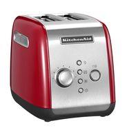 Тостер на 2 хлебца, красный, 5KMT221, KitchenAid, фото 1