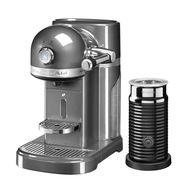 Кофеварка капсульная Artisan Nespresso + Aeroccino, серебряный медальон, 5KES0504EMS, KitchenAid, фото 1