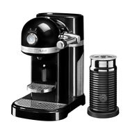 Кофеварка капсульная Artisan Nespresso + Aeroccino, черная, 5KES0504EOB, KitchenAid, фото 1