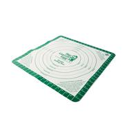 Коврик силиконовый гибкий с разметкой для раскатки теста для пиццы, Big Green Egg, фото 1