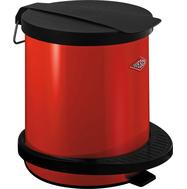 Мусорный контейнер Pedal bin, 5 л, красный, Wesco, фото 1