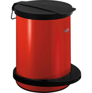 Мусорный контейнер Pedal bin 111, 13 л, красный, Wesco, фото 1