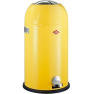 Мусорный контейнер Kickmaster, 33 л, лимонно-желтый, Wesco, фото 1