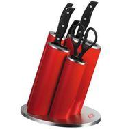 Набор ножей Азия, красный, Wesco, фото 1