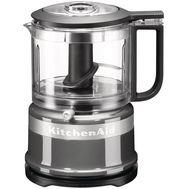 Кухонный мини-комбайн, чаша 0,8 л., серебристый по контуру, 5KFC3516ECU, KitchenAid, фото 1