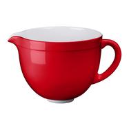Чаша (дежа) керамическая 4,7 л, красная, 5KSMCB5ER, KitchenAid, фото 1