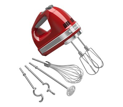 Ручной миксер KitchenAid, красный, 5KHM9212EER, KitchenAid, фото 2