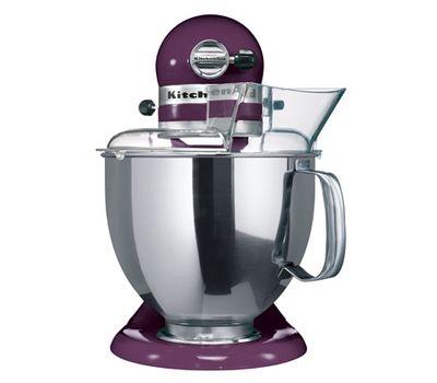 Миксер Artisan, 4,8 л., фиолетовый, 5KSM175PSEBY, KitchenAid, фото 2
