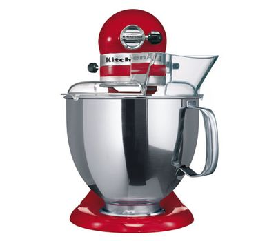 Миксер Artisan, 4,8 л., красный, 5KSM125EER, KitchenAid, фото 2