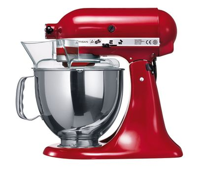 Миксер Artisan, 4,8 л., красный, 5KSM125EER, KitchenAid, фото 3
