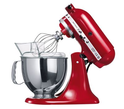 Миксер Artisan, 4,8 л., красный, 5KSM125EER, KitchenAid, фото 4