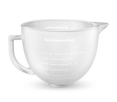 Чаша стеклянная, матовая, 4,83 л, KitchenAid, фото 1