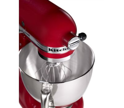 Миксер Artisan, 4,8 л., красный, 5KSM125EER, KitchenAid, фото 6