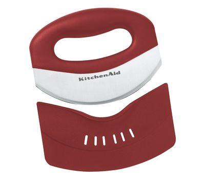 Мезалуна (нож для зелени) красная, KC173OHERA, KitchenAid, фото 2