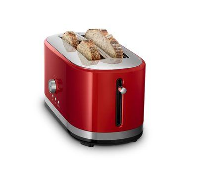Тостер Artisan на 2 хлебца, удлиненные слоты, красный, 5KMT4116EER, KitchenAid, фото 2